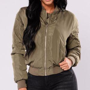 Fashion nova bomber jacket